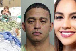 familia de joven madre que perdio una pierna en un accidente en la calle 8 pide justicia