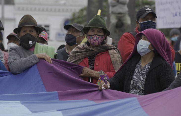 Marcha indígena en Ecuador contra el alza de combustibles