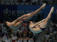 mexico acaricia podio en trampolin de 3 metros; china, oro