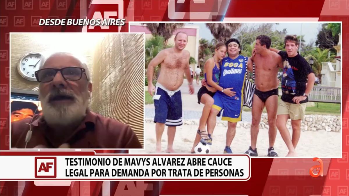 Argentina: demandan a ex amigos de Maradona por el caso de novia cubana de 16 años