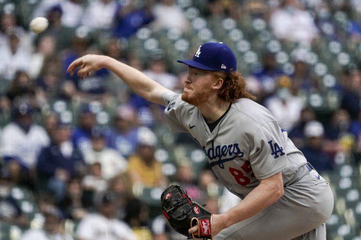 Dodgers se quedan sin Dustin May por resto de la campaña