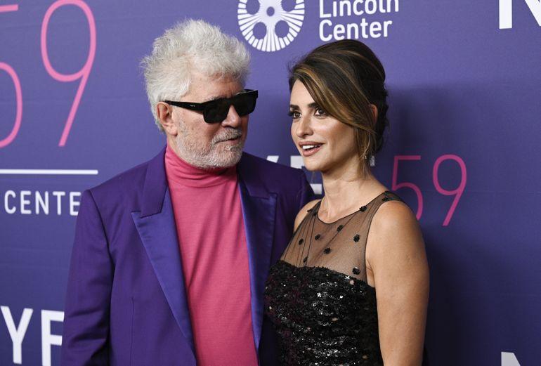 Almodóvar y Cruz cierran el Festival de Cine de Nueva York