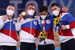 equipo roc: por que los atletas rusos no compiten con la bandera de su pais