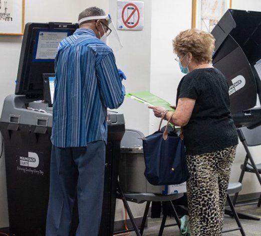 ¿Dónde votar de manera anticipada en el condado Miami-Dade?