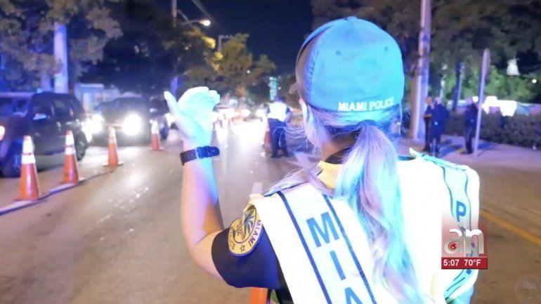 1 herido de gravedad en accidente de choque y fuga en Miami