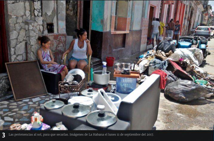 Cuba da marcha atrás y anuncia que no cobrará donaciones a damnificados por desastres