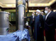 iran dice estar probando nueva centrifuga nuclear avanzada