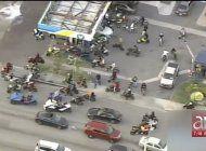 saldo de celebraciones de mlk: caos en las calles de miami y mas de 20 arrestos