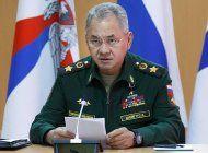 rusia: despliegue de fuerzas cerca de ucrania es por la otan
