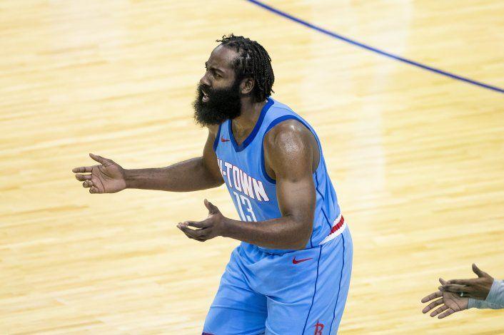 Harden: loca situación con los Rockets no tiene arreglo