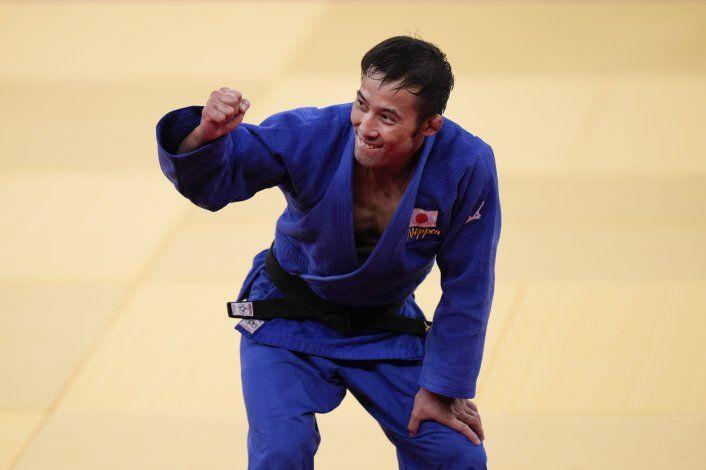 Naohisa Takato suma el primer oro para Japón en judo