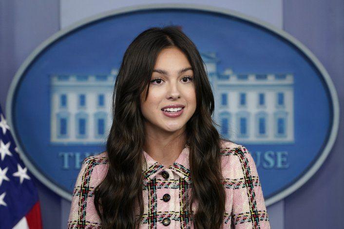 Olivia Rodrigo apoya esfuerzos de vacunación de Casa Blanca
