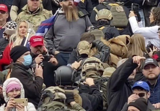 Exmilitares y policías participaron en la toma del Congreso