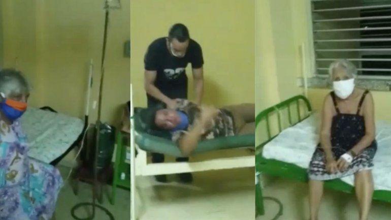 Imágenes del deteriorado estado de un hospital en Ciego de Ávila