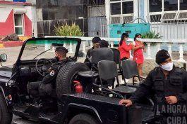 el regimen saca sus tropas antimotines en la habana