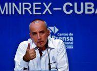 Ernesto Soberón, funcionario del régimen cubano.