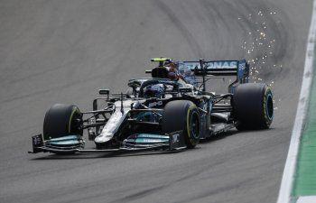 Bottas domina 1ra sesión de práctica para GP Emilia-Romagna