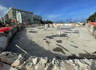 despues de retirar los escombros, asi luce el area donde se encontraba el edificio champlain towers de miami