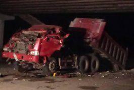 aparatoso accidente tras el colapso de parte de un puente en calvario, la habana