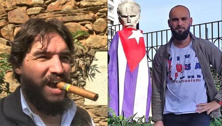 Cubano exiliado en España denuncia a testaferro del régimen