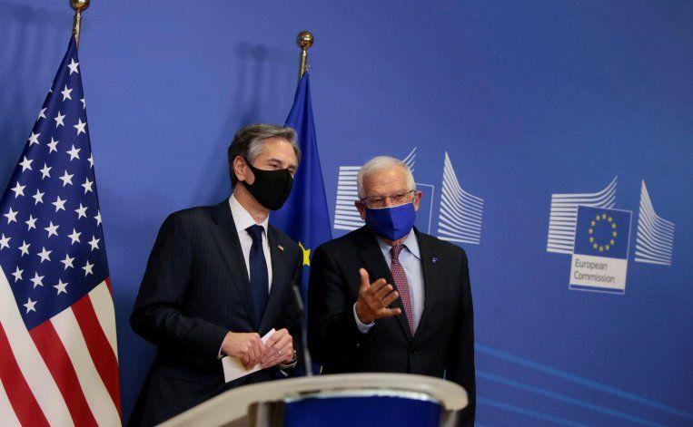 Blinken y Borrell dialogaron sobre el pacto con Irán y la relación con Rusia