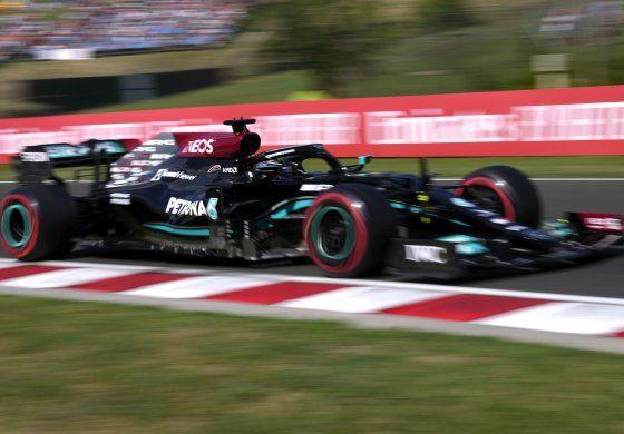 F1: Hamilton supera a Bottas, gana pole para GP de Hungría
