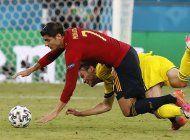 espana y polonia chocan en la euro peleados con el gol