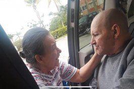 Eduardo Arocena y su esposa Miriam se encuentran en Miami tras 39 años de separación (Cortesía).