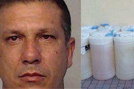 residente de hialeah arrestado por transportar ilegalmente mas de 200 galones de gasolina