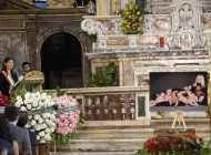 asi fue el funeral de raffaella carra en roma