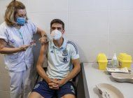 eurocopa: seleccion de espana recibe vacuna contra covid-19