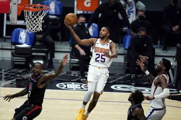 George suma 33 y Clippers cortan racha de triunfos de Suns