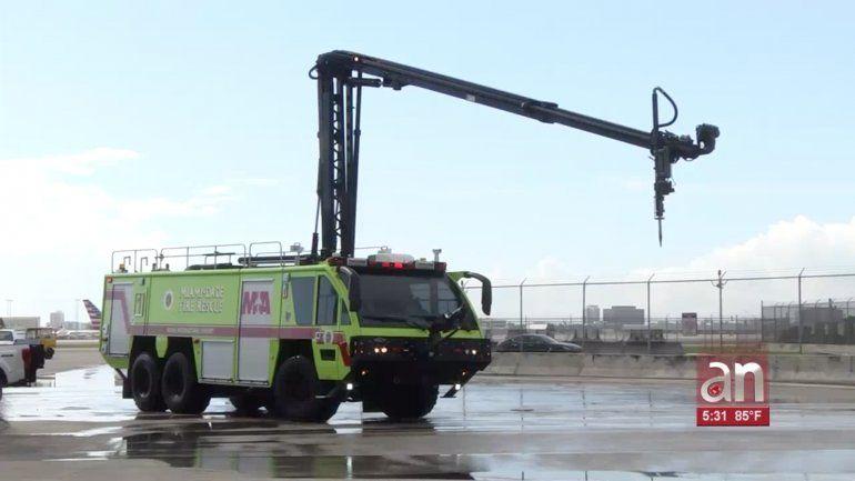 El departamento de bomberos de Miami-Dade implementa tecnología novedosa en sus camiones