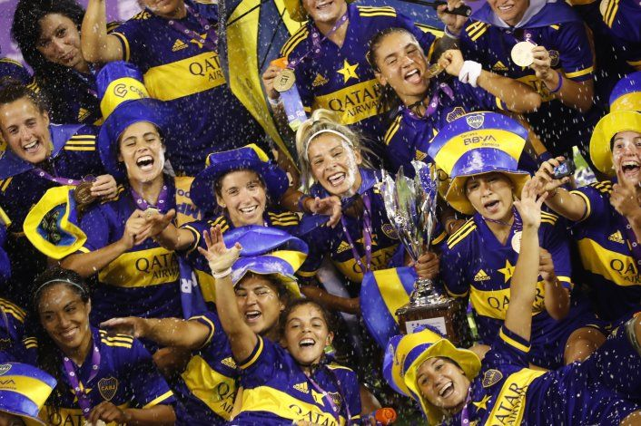 Boca, 1er campeón profesional del fútbol femenino