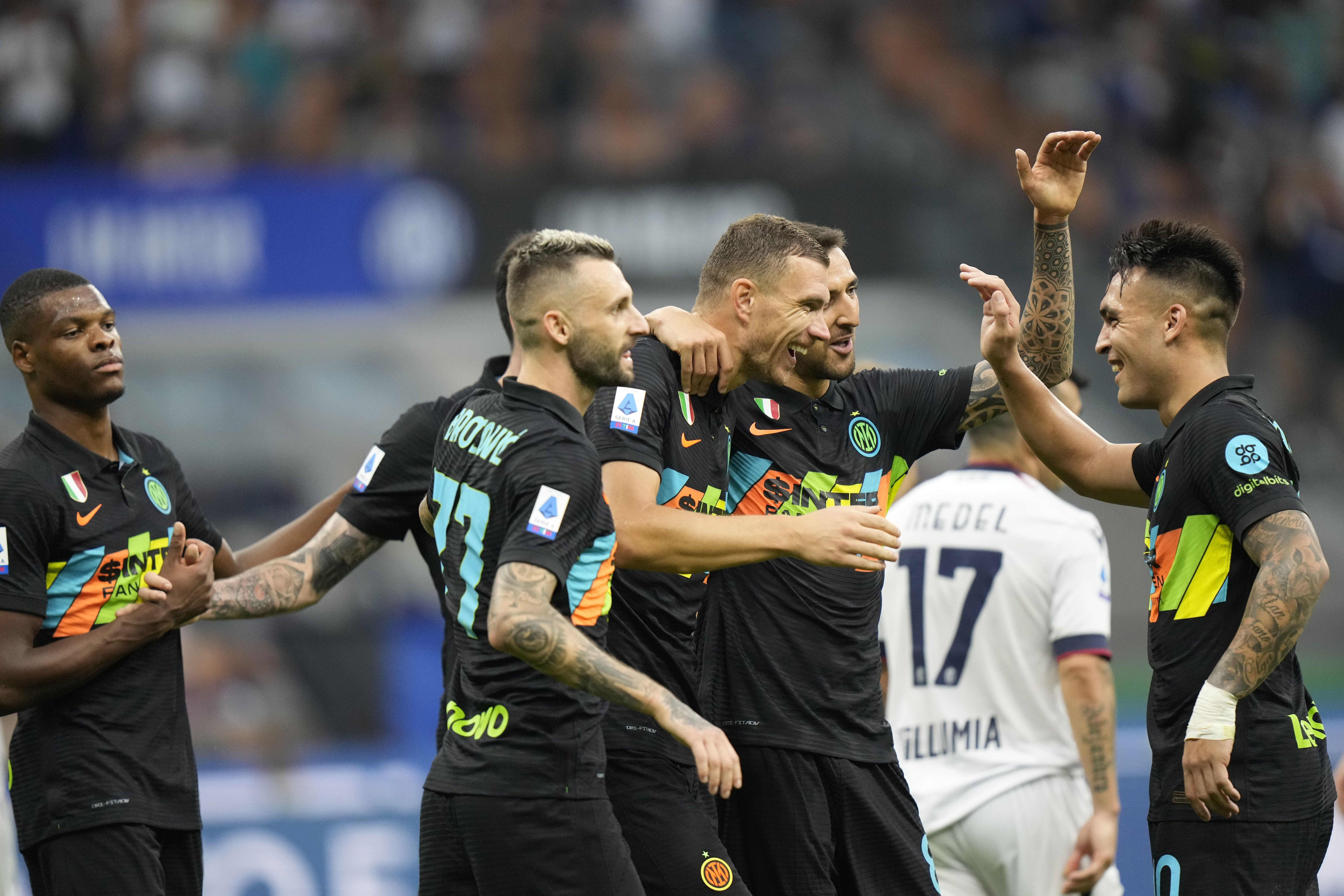 Sin Lukaku y Conte, Inter de Milán mantiene racha en Serie A