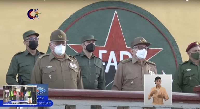 Tras rumores de su posible muerte reapareció el dictador cubano Raúl Castro
