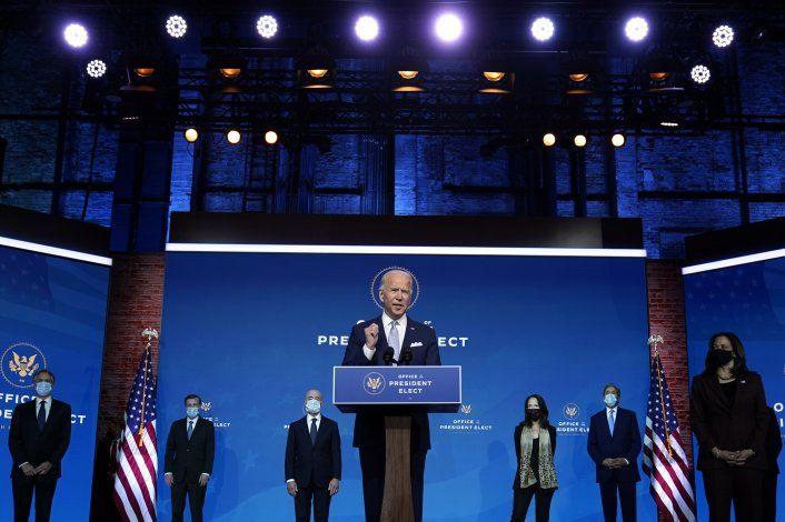 Biden busca una rápida confirmación de su gabinete en Senado