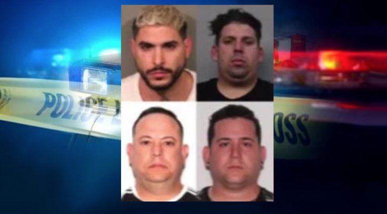 Tras las rejas presuntos estafadores de tarjetas de crédito que viajaron de Miami al condado Placer, California