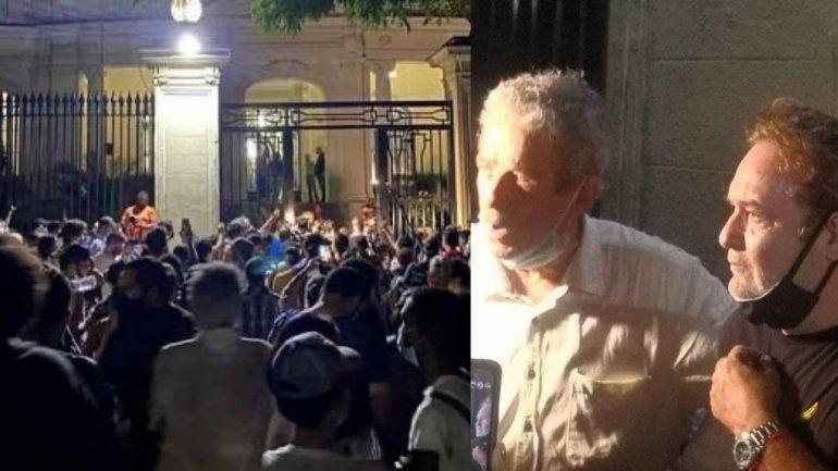 Continúa la protesta frente al Ministerio de Cultura; Perugorría y Fernando Pérez presentes; posible reunión con Fernando Rojas