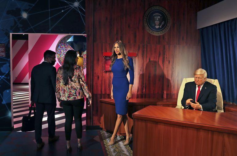 Trump de cera es protagonista en Madame Tussauds de Dubái