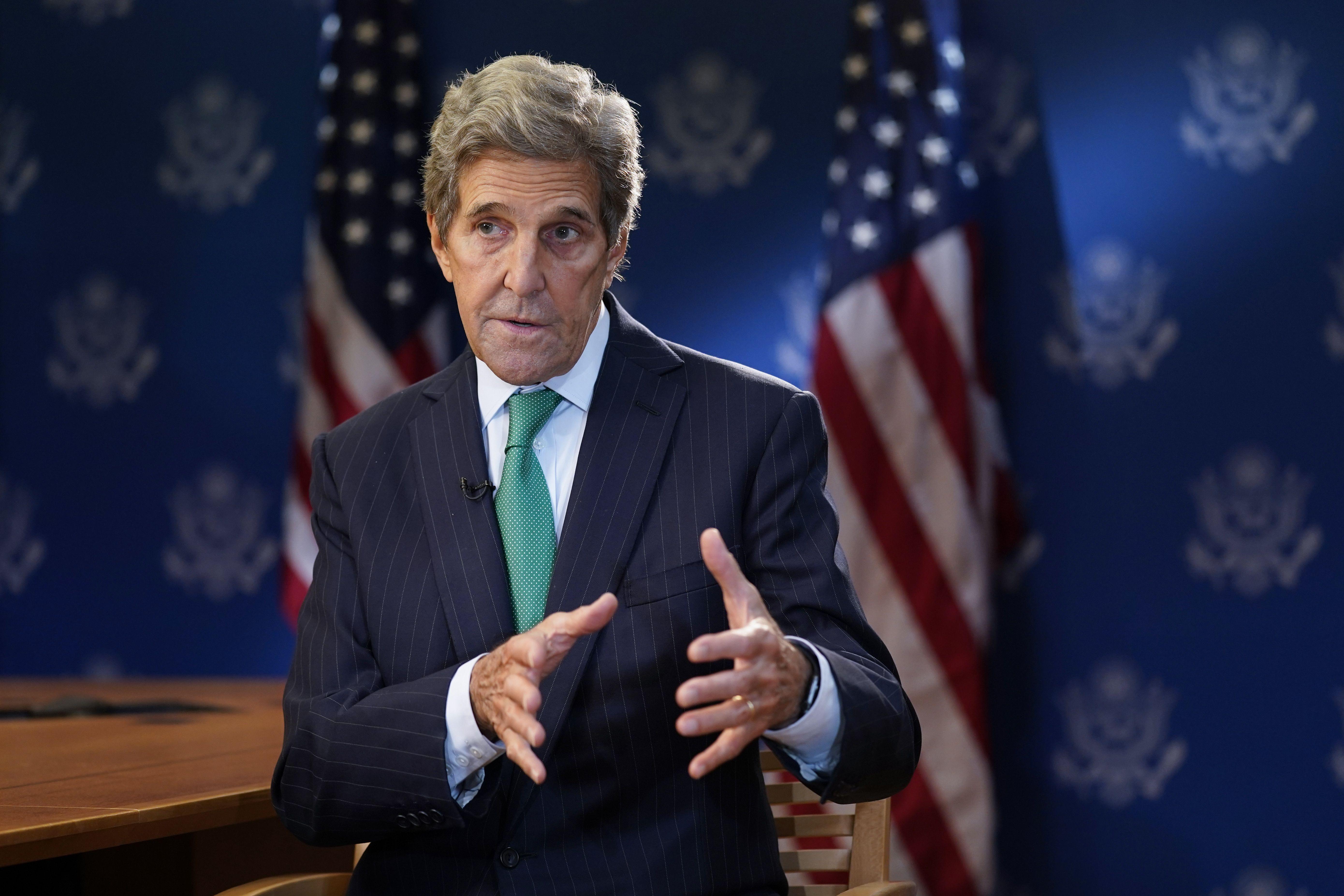 kerry: cumbre de onu para el clima podria no lograr objetivo