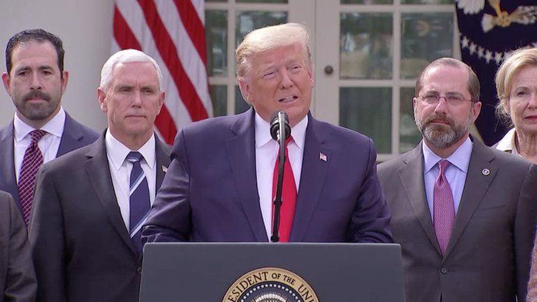 Trump declara  Emergencia Nacional  por Coronavirus