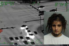 revelen las imagenes de una persecucion policial en hialeah donde un joven termino herido de bala