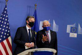 blinken y borrell dialogaron sobre el pacto con iran y la relacion con rusia