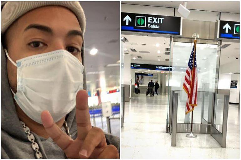Yulién Oviedo da un viaje relámpago a Miami y reta al exilio