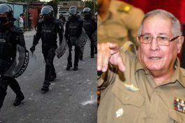 Administración Biden sanciona al ministro de Defensa de Cuba y a las Brigadas de Fuerzas Especiales por abusos contra manifestantes