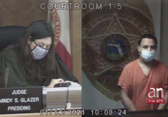En corte un cubano de Miami acusado de maltratar al bebé de si novia