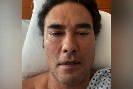 eduardo yanez fue diagnosticado con cancer y tiene miedo de morir