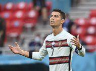 cristiano fija marca europea y portugal vence 3-0 a hungria