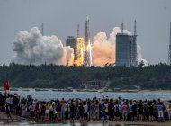 los restos del cohete chino caen en el indico sin causar danos